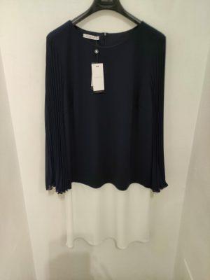 abito bicolore kitana